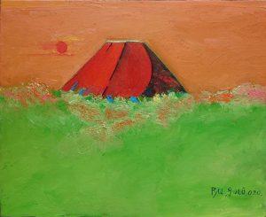 赤富士_1393