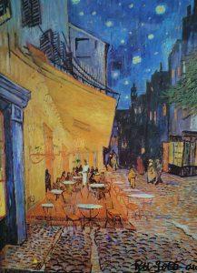 夜のカフェ〜テラス_1394