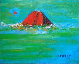 赤富士_1417