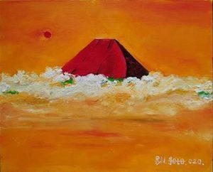 赤富士_1421